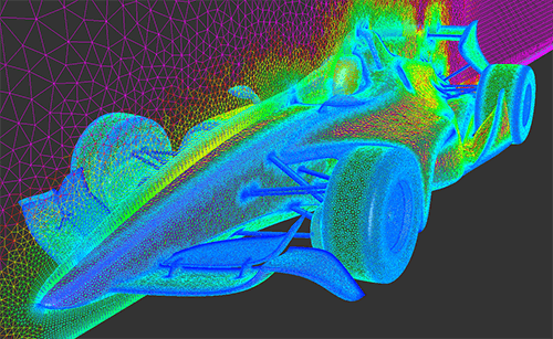 CFD Mesh Generation for Automotive